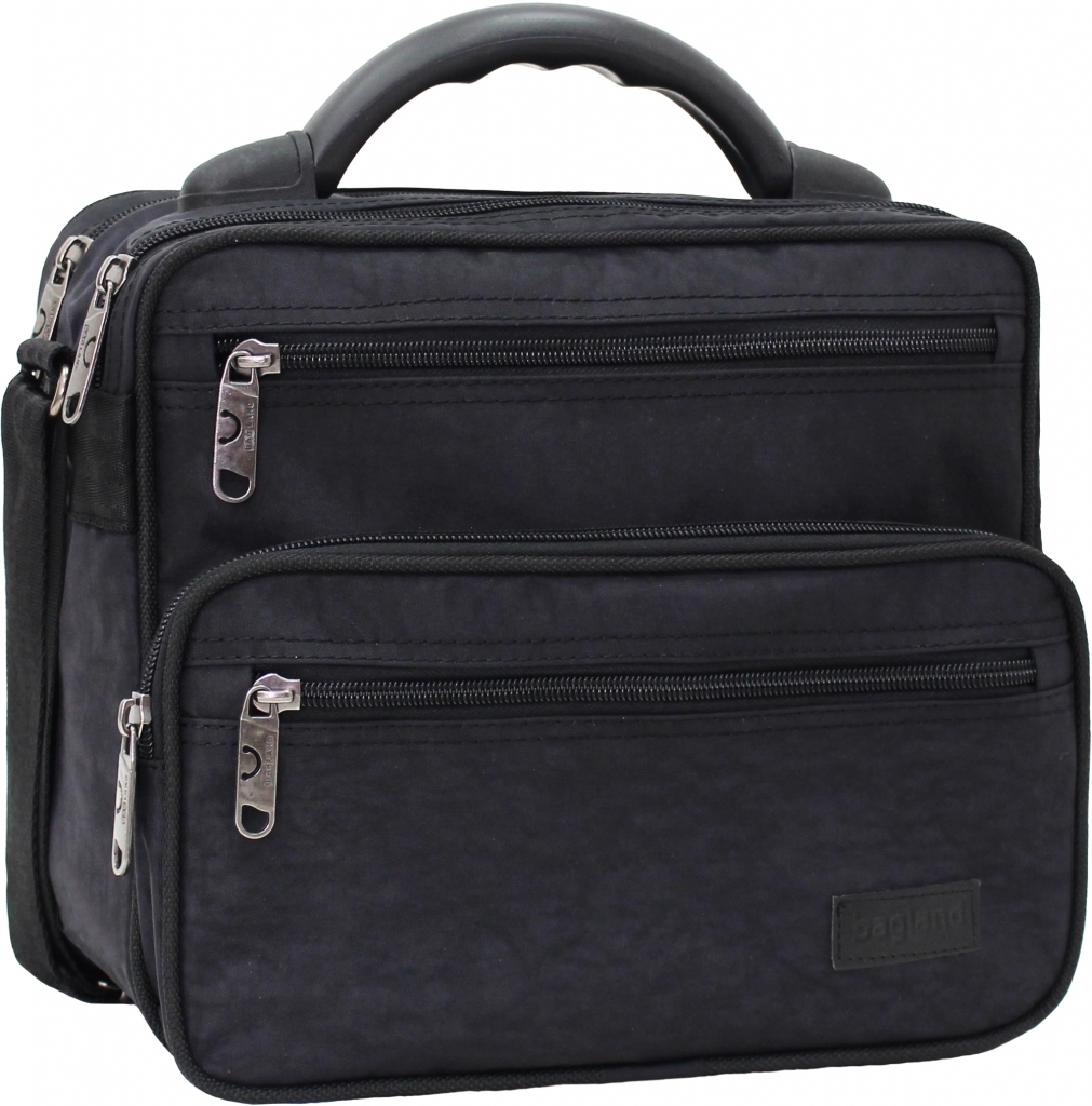 Сумки через плечо Мужская сумка Bagland Mr.Braun 8 л. Чёрный (0024070) 8865522a87f300bac8a03a4ddcbc784b.JPG
