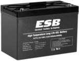 Аккумулятор ESB HTL12-100 ( 12V 100Ah / 12В 100Ач ) - фотография
