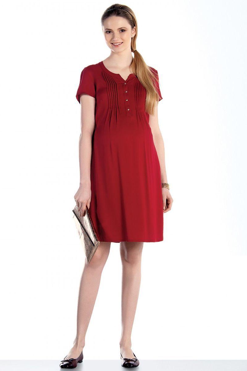 Платье 07589 красный