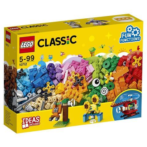 LEGO Classic: Кубики и механизмы 10712 — Bricks and Gears — Лего Классик