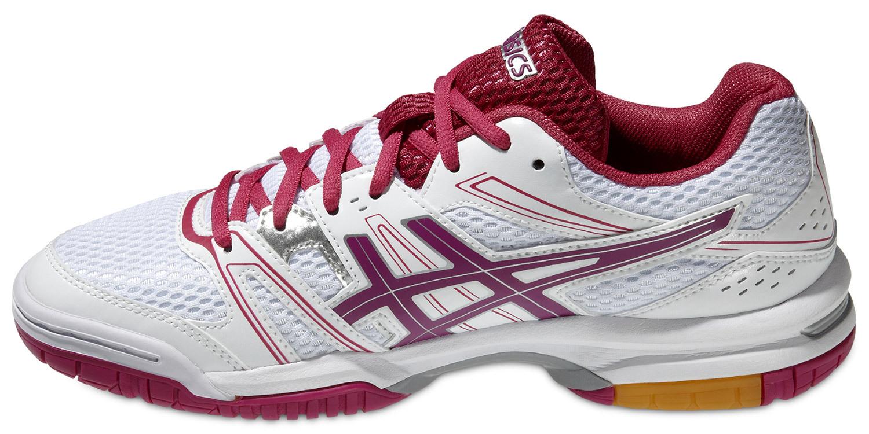 Женские волейбольные кроссовки Асикс Gel-Rocket 7 (B455N 0119) розовые фото