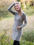 Bergans платье Kollen Wool Lady Dress Grey Melange