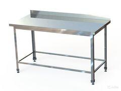 СПБ (по)-12-6 Стол производственный с бортом (1200х600х870 мм.) (обвязка)