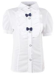 0272 блузка детская, белая