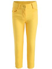 BK208-1 джинсы для девочек, желтые