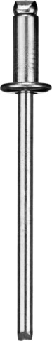 Заклепки стальные, 4,8x14мм, 500шт, ЗУБР Профессионал 31313-48-14