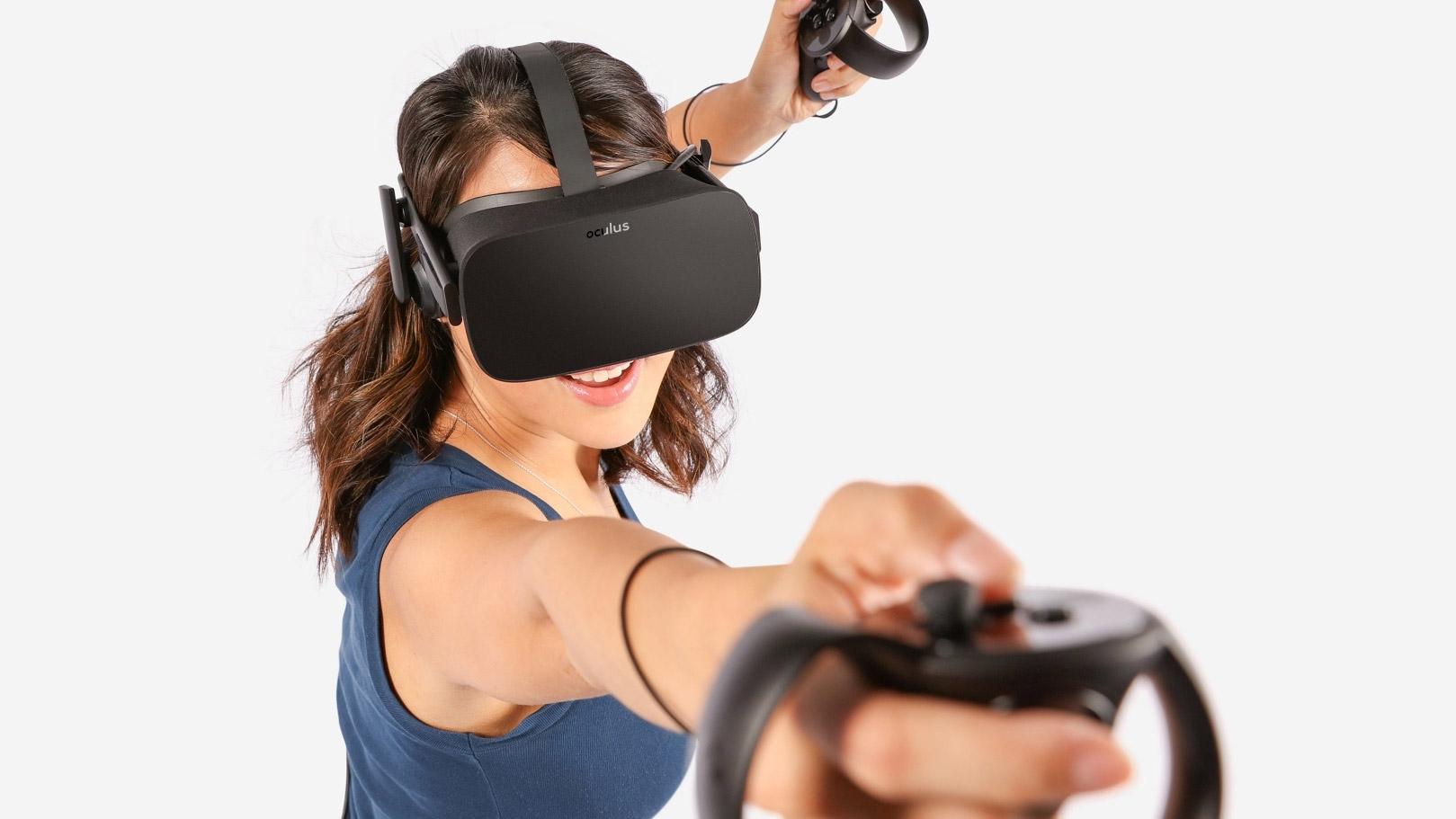 Шлем виртуальной реальности  Oculus CV1 + Контроллер Oculus Touch