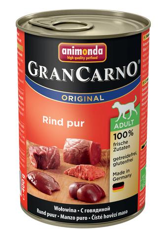 Консервы Animonda Gran Carno Original Adult с говядиной для взрослых собак