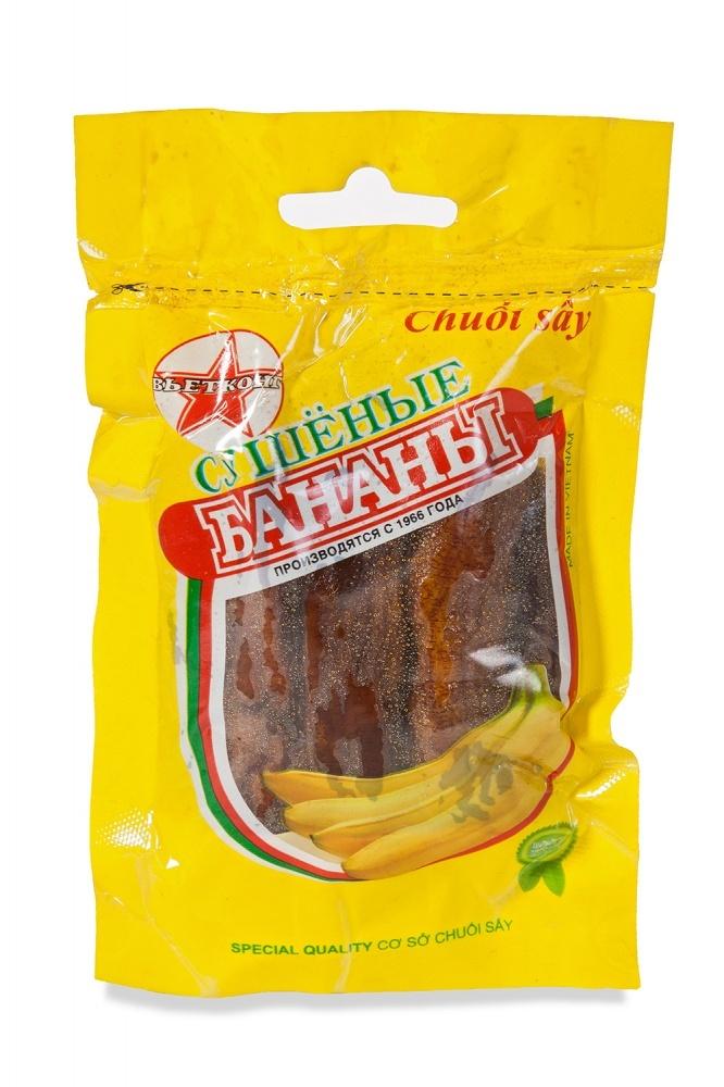 Вьетнамские сушеные бананы, ВьетКонг, 100 гр.