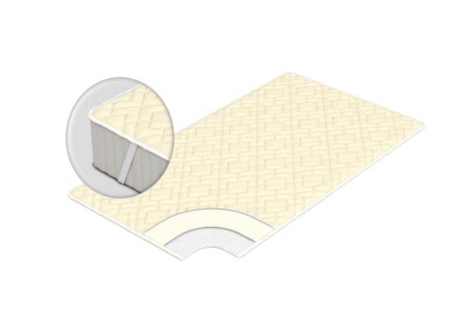 Наматрасник Татами выравнивающий на резинках (120x200) фото