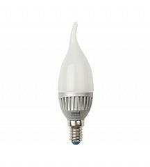 Лампа светодиодная (07106) E14 4W 3000K свеча на ветру матовая LED-CW37-4W/WW/E14/FR