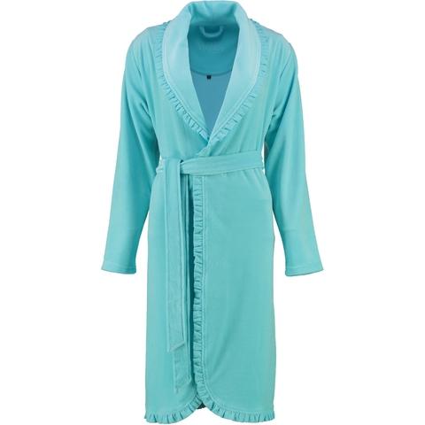 Элитный халат велюровый Ariel лазурь от Vossen