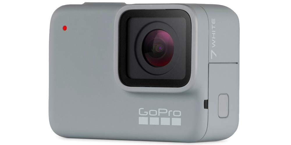 Экшн-камера GoPro HERO7 White Edition (CHDHB-601-LE) вид сбоку