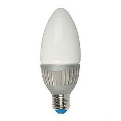 Лампа светодиодная (07103) E14 4W 4500K свеча матовая LED-C37-4W/NW/E14/FR