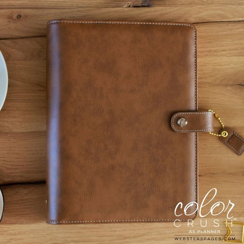 Планнер A5 WALNUT BINDER ONLY by Websters Pages