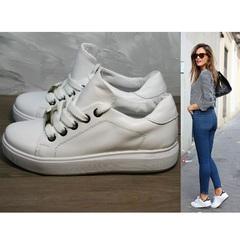 Туфли кеды женские Molly shoes 557 Whate