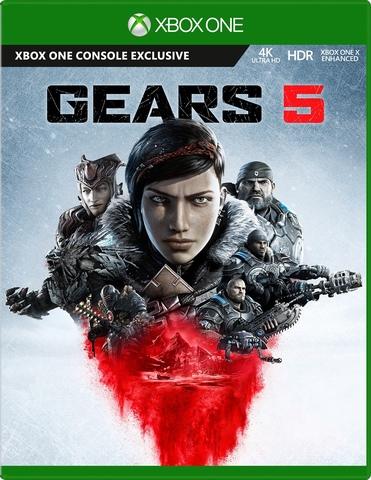Xbox One Gears 5 Стандартное издание (русская версия)