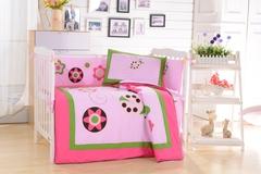 Комплект постельного белья  в кроватку с бортиком ТМ Вальтери Россия DK-21