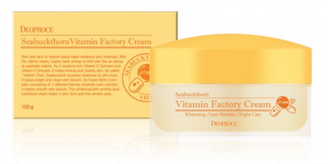 DEOPROCE Seabuckthorn Vitamin Factory Cream
