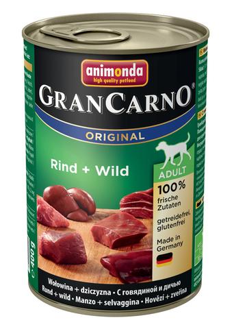 Консервы Animonda Gran Carno Original Adult с говядиной и дичью для взрослых собак