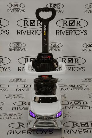 Толокар River Toys LEXUS X999XX-A с родительской ручкой