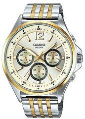 Мужские японские наручные часы CASIO MTP-E303SG-9A