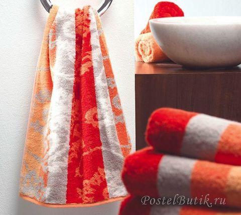Полотенце 50x100 Cawo Riva красное