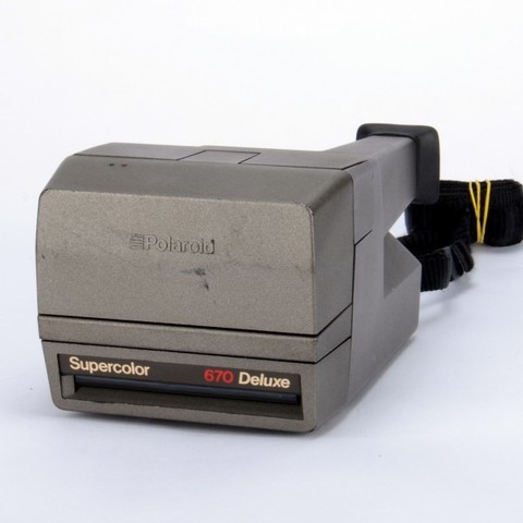Polaroid SuperColors 670 Deluxe