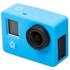 Силиконовый чехол для камеры GoPro 3+/4 Черный