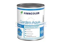 Эмаль акриловая Finncolor Garden Aqua, основа A, 0,9л