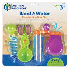 Развивающая игра Набор инструментов Маленькие ручки. Вода и песок Learning Resources
