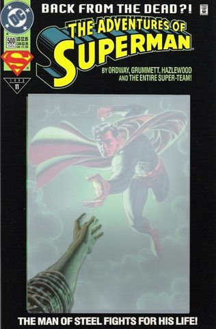 The Adventures of Superman #500 – Back from the dead