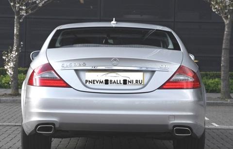 Mercedes-Benz CLS C219 2004 - 2011  Ремонт Задней Пневмоподвески