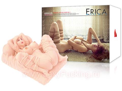 Реалистичная мини-кукла вагина мастурбатор KOKOS ERICA