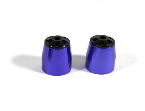 Грузики руля универсальные синие R-35