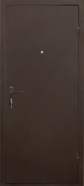 Металлические двери серии «Бюджет» Б3 МАСТЕР ит.орех, VALBERG