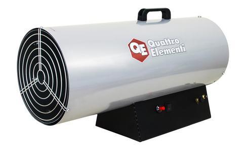 Нагреватель воздуха газовый QUATTRO ELEMENTI QE-55G (25 - 55кВт, 1100 м.куб/ч,  4,2 л/ч, 11,7кг)