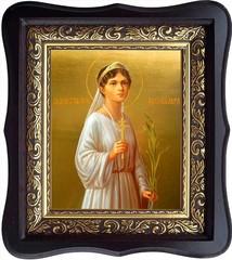 Ольга Романова, великая княжна, страстотерпица. Икона на холсте.