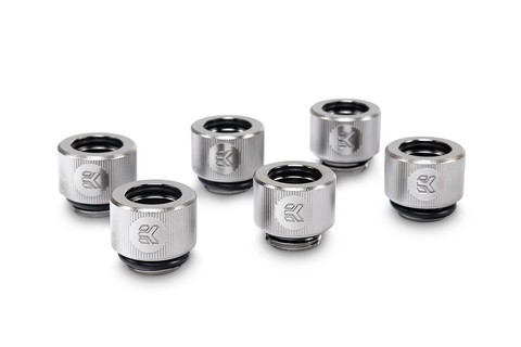 EK-HDC Fitting 12mm - Nickel (6-pack)