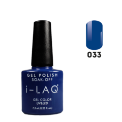 Гель лак для ногтей I-laq  033, 7,3 мл.
