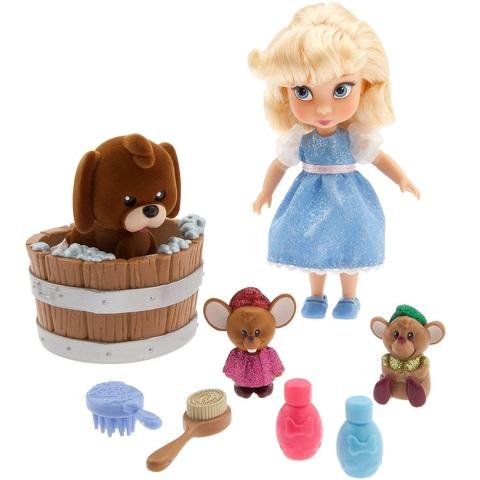 Дисней Аниматор Золушка набор с мини-куклой 13 см