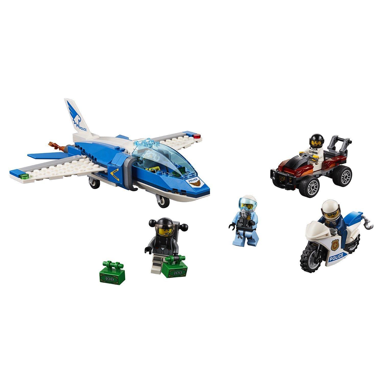 Конструктор LEGO City Police Воздушная полиция: арест парашютиста 60208