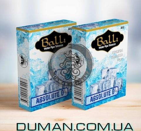 Табак Balli Absolute 0 - Zero (Балли Абсолютный Ноль)