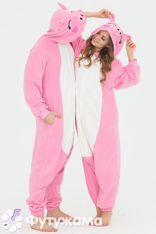 "Пижама-кигуруми Футужама ""Розовый поросенок"""