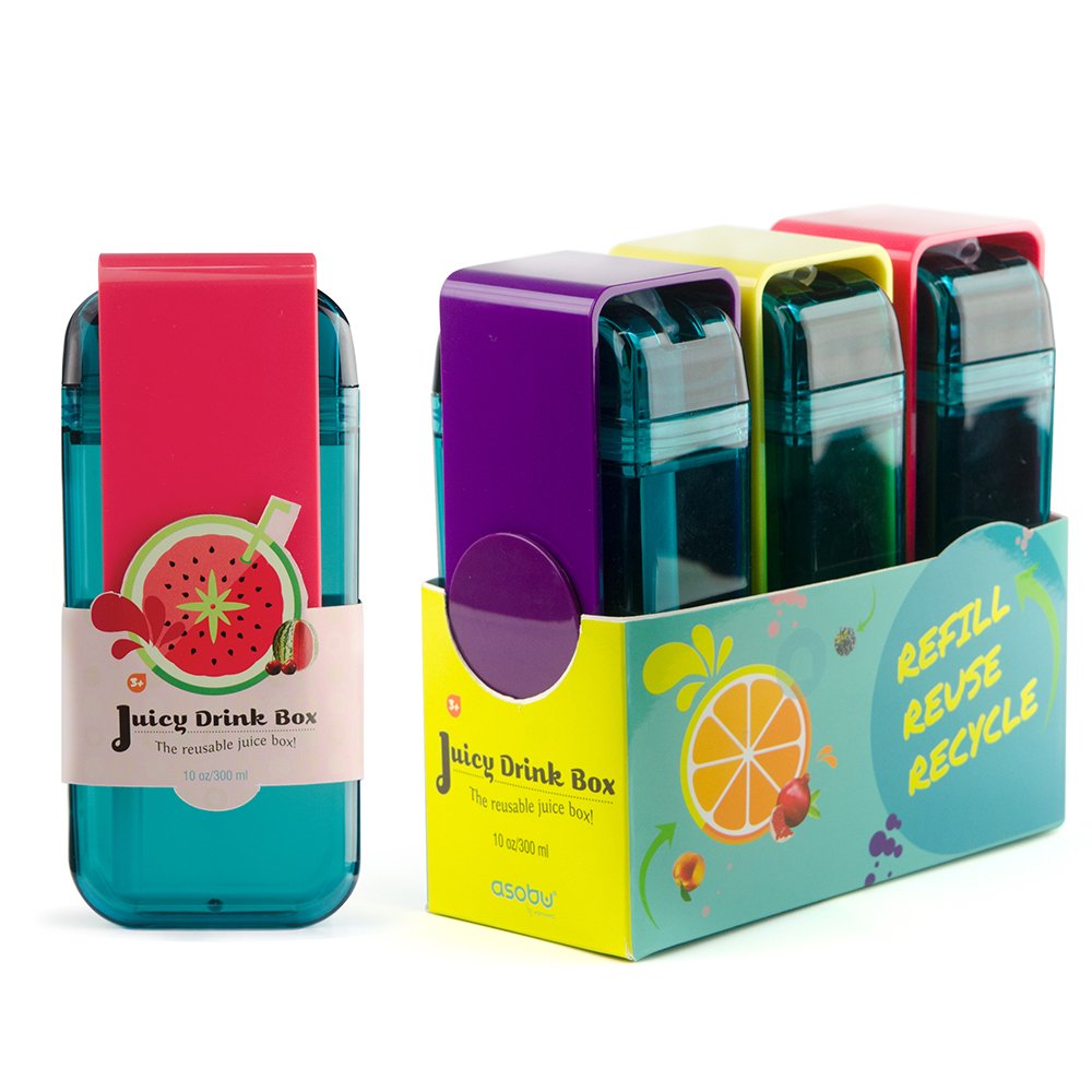 Мини-бокс для сока Asobu Juicy box (0,29 литра), белый*