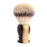 Помазок MUEHLE CLASSIC, фибра высшей категории Silvertip, смола, цвет рога, размер XL (35 K 252)