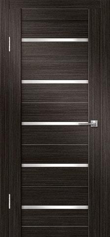 Дверь Дверная Линия ДО-Грация 1, стекло снег, цвет акация, остекленная