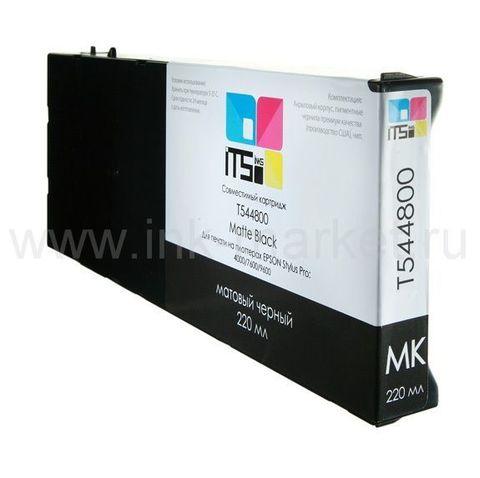 Совместимый картридж для Epson Stylus Pro 4000, 7600, 9600 Matte Black Pigment, 220 мл (М0000003955)