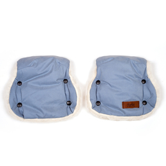 Markus. Раздельная меховая муфта Basik Twin, dusty blue