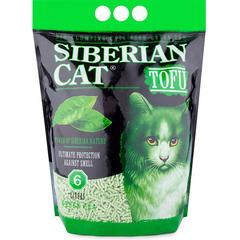Наполнитель для кошек, Сибирская Кошка, Тофу Зеленый чай